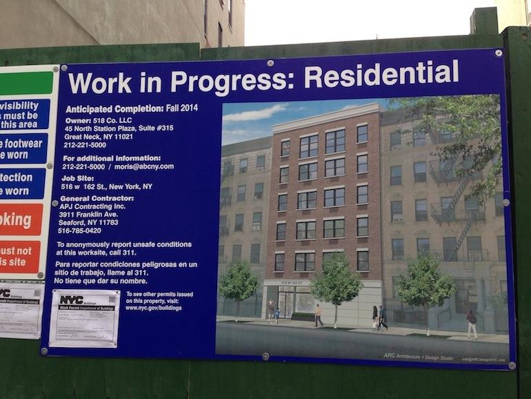 516 West 162nd Street