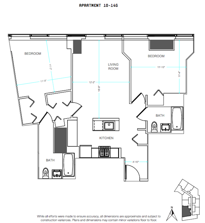 66 Rockwell 2BR