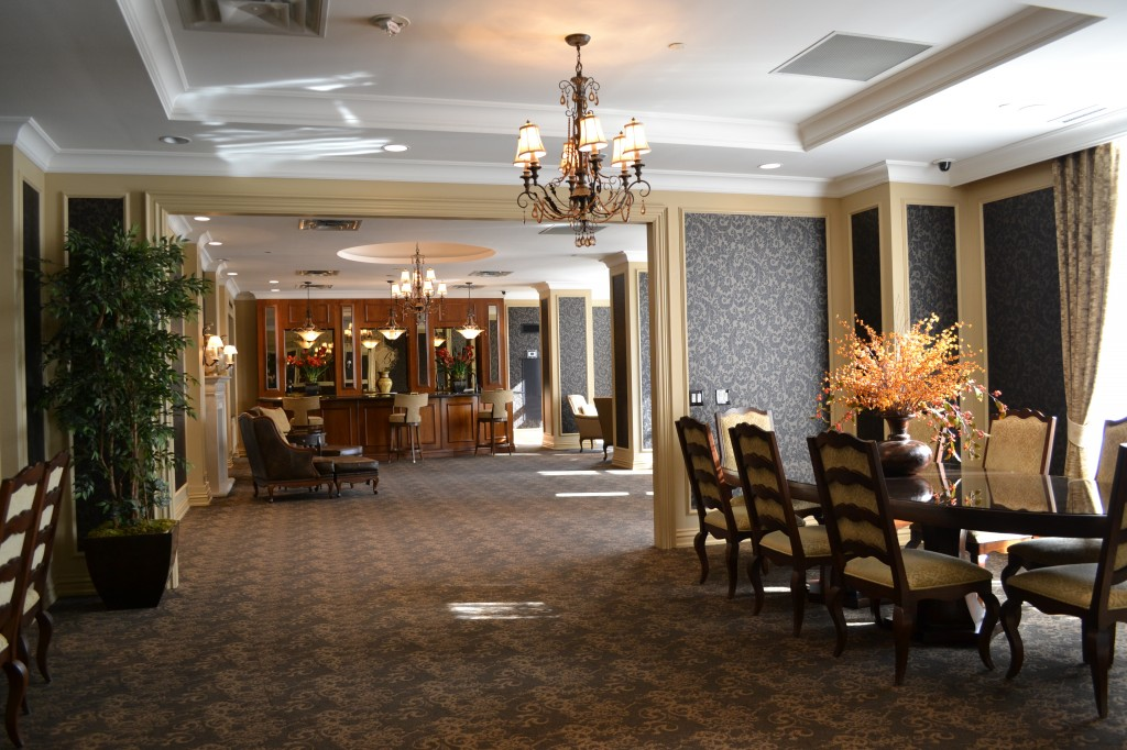 the bellaria residences party room