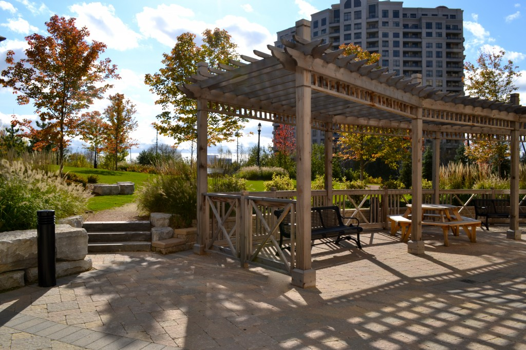 the bellaria residences outdoor space