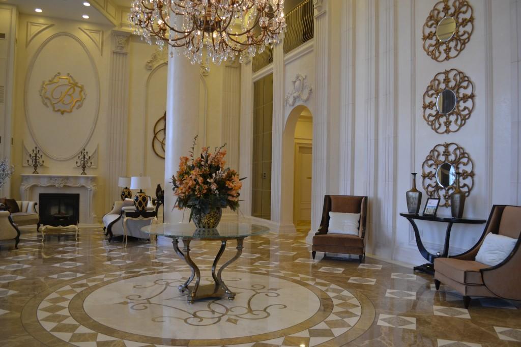 the bellaria residences lobby
