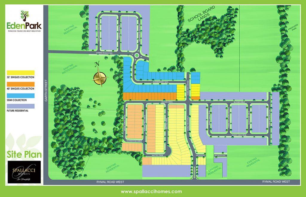 Eden Park Siteplan