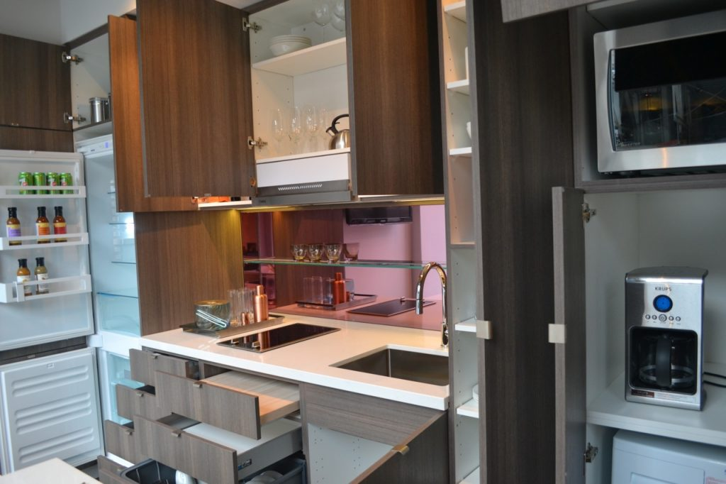 kitchenstorage micro condo