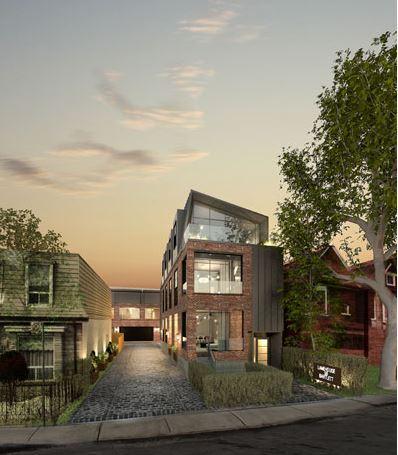 lanehouse on bartlett exterior