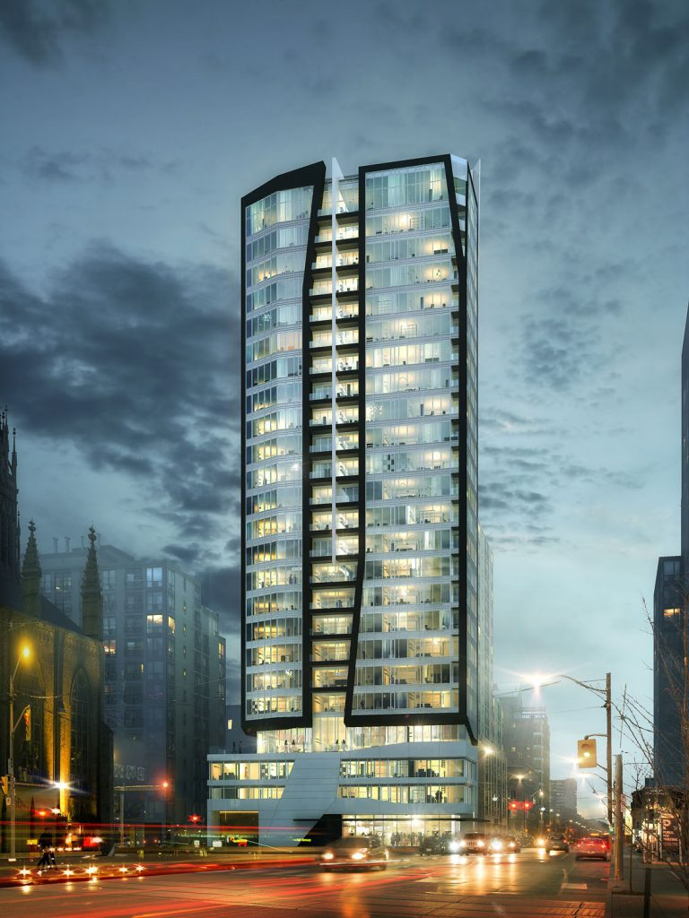 Core Condos - West Facade