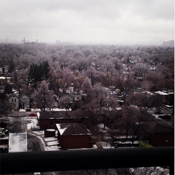 Toronto icestorm
