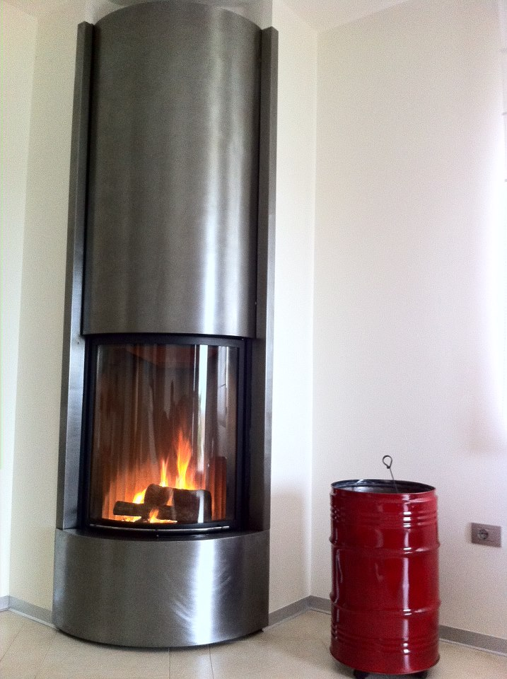 fireplace santa
