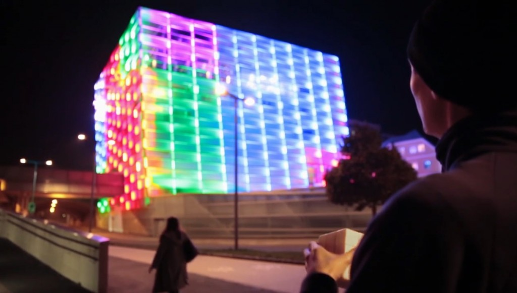 rubik's cube building