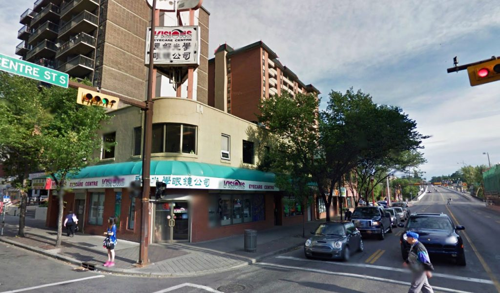 Calgary chinatown historic