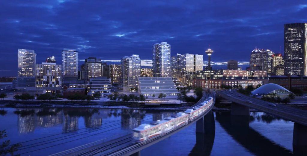 Calgary east village future