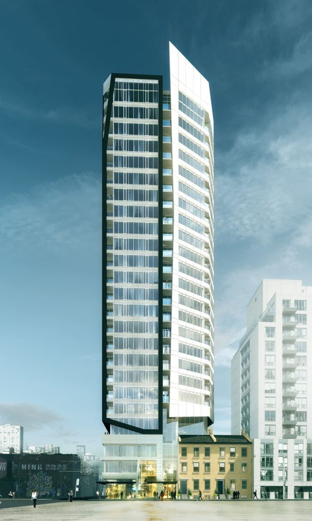 Core Condos - South Facade