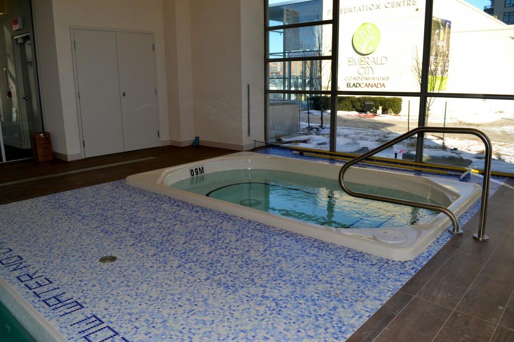 emerald city hot tub