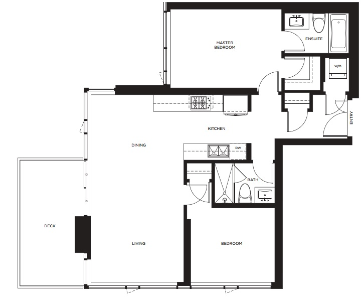 Evolution floorplan