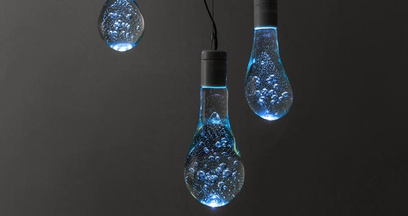 Water balloon light bulb