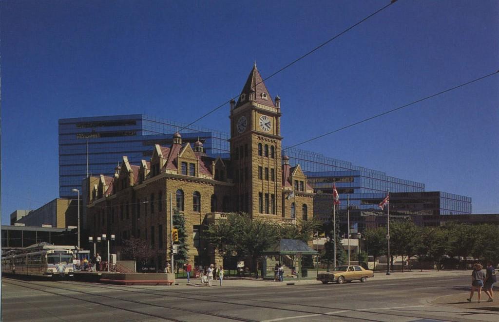 calgary city hall 1990s
