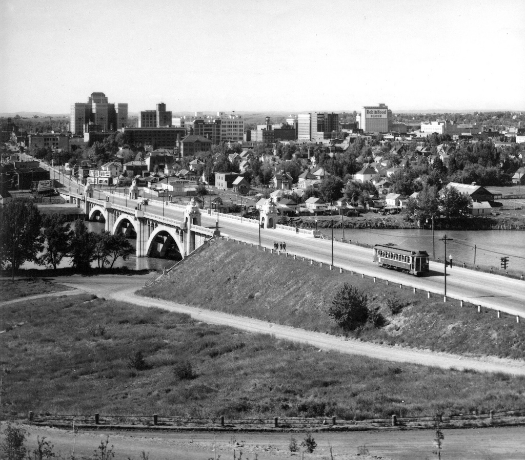 centre street bridge 1943