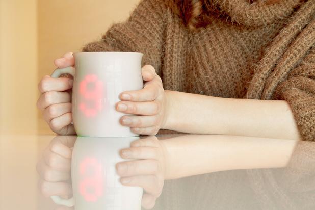 led coffee mug intel