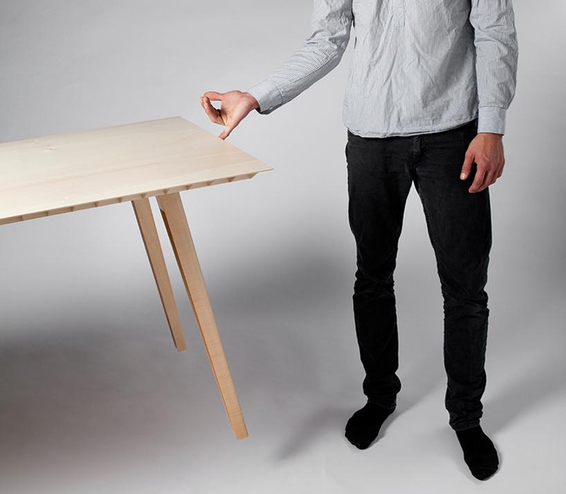 lightest wooden table-2