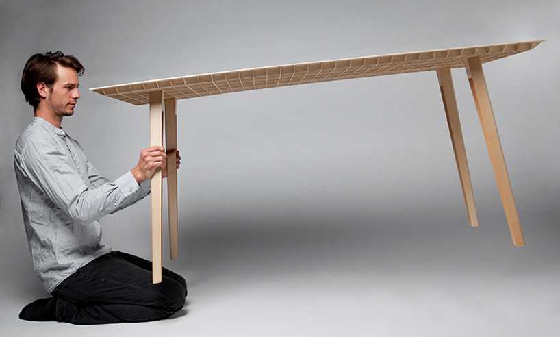 lightest wooden table