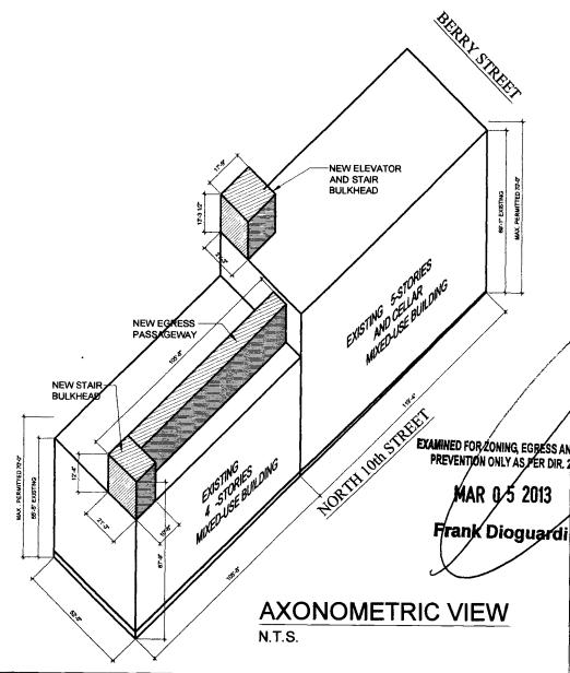 103 North 10th diagram