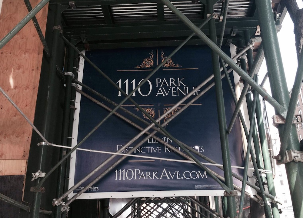 1110 Park Ave sign 2