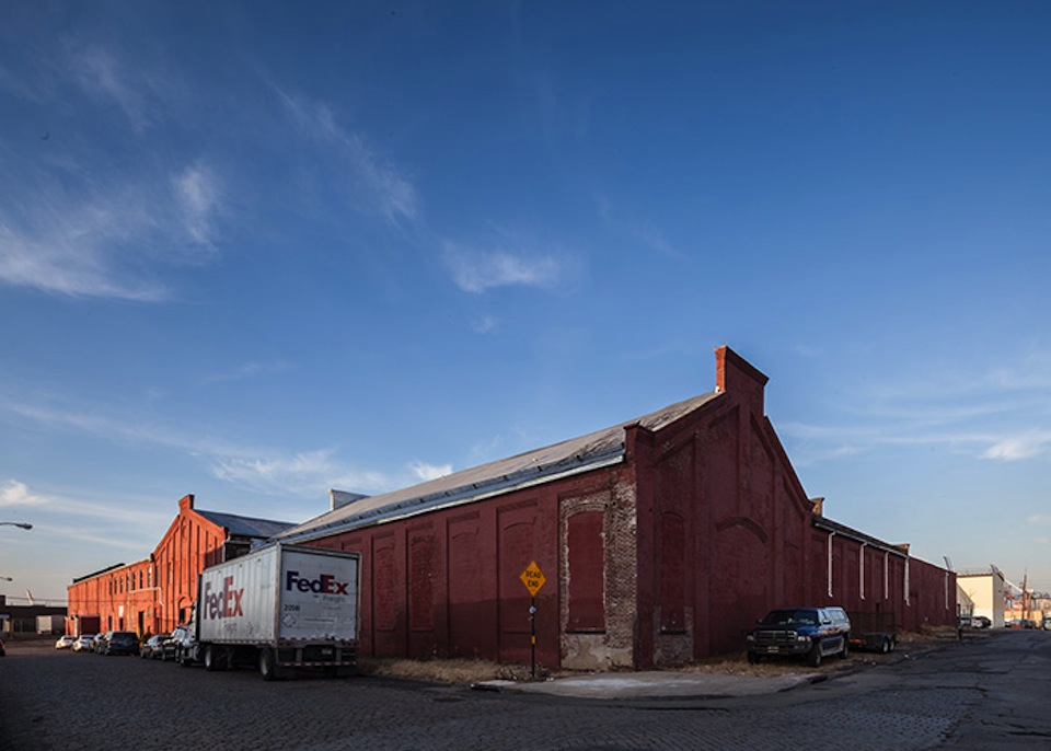 202 Coffey warehouse side