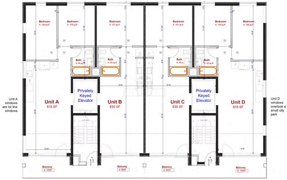 2415 Albemarle Road floorplans