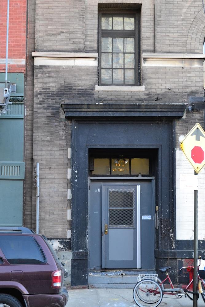 67 Vestry door
