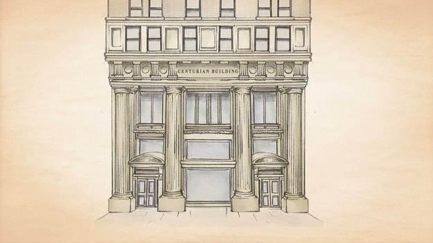 Centurian Building sketch
