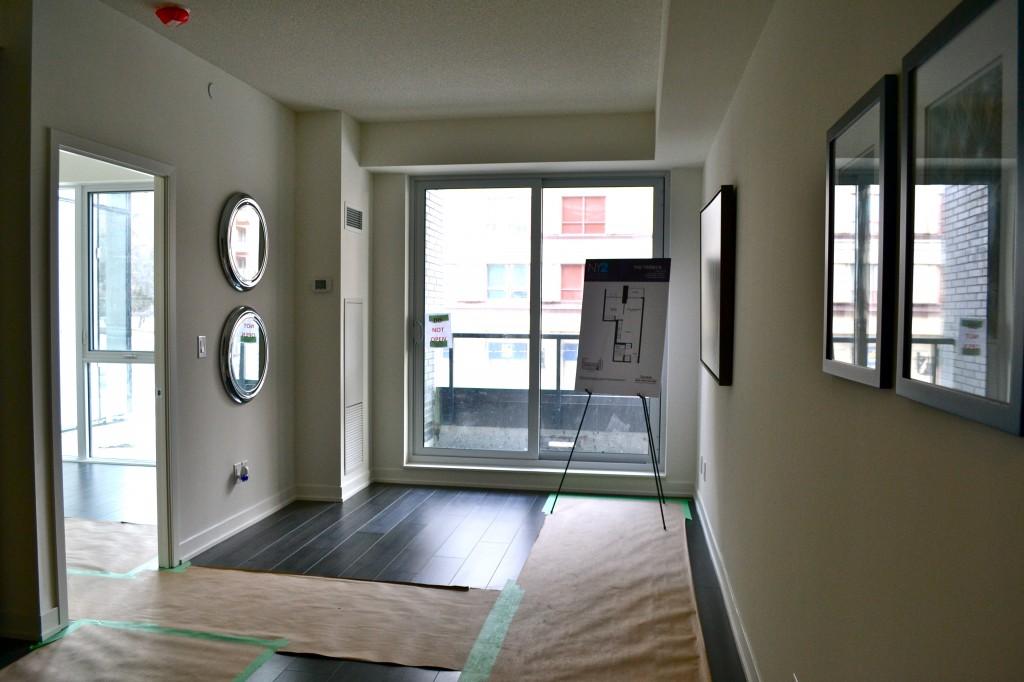 NY2 Condos model suite 2