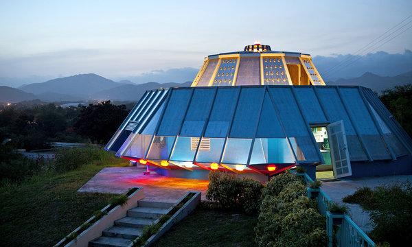 Puerto Rico ufo house