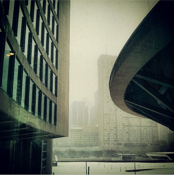 Instagram Toronto Snow