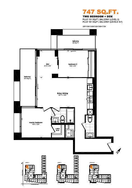 the carlaw floorplan