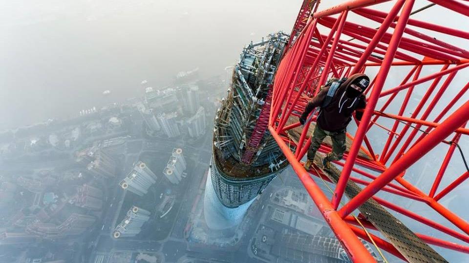 Shanghai Tower climb