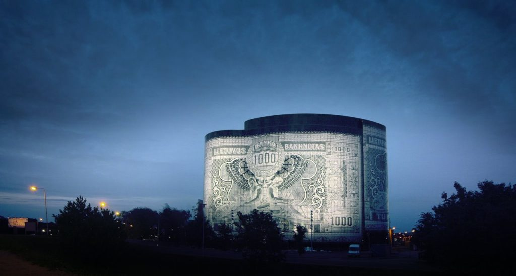 bank note building
