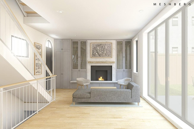 259 Berry Street living space