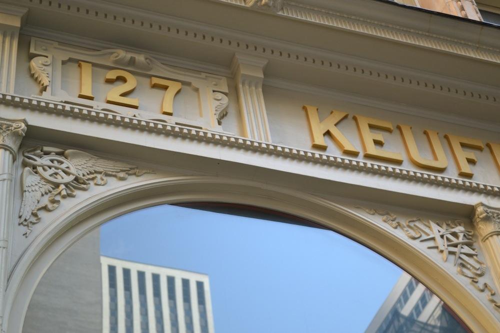 42 Ann Street facade detail 1