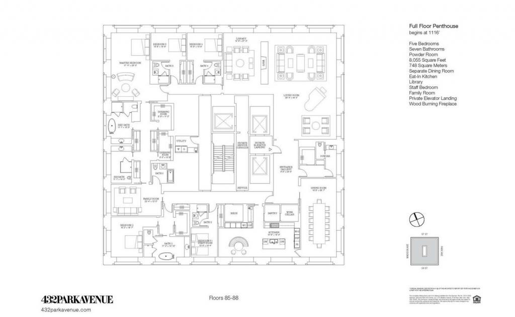 432 park penthouse