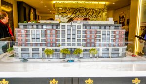 brookdale on avenue road scale model