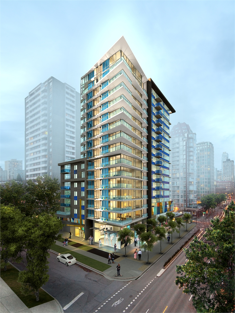 Modern-Vancouver-west-end-condos-1