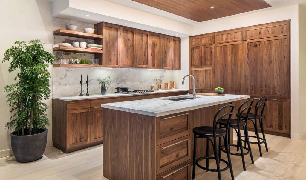 Pierhouse kitchen wood