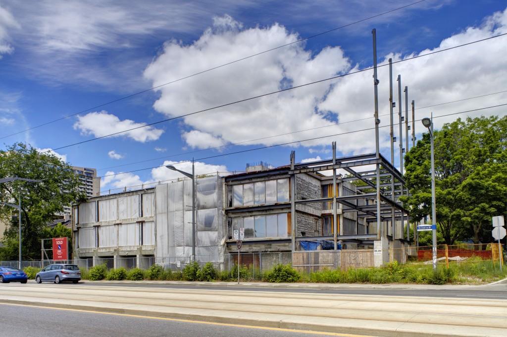 The Code Condos - Pre Demolition