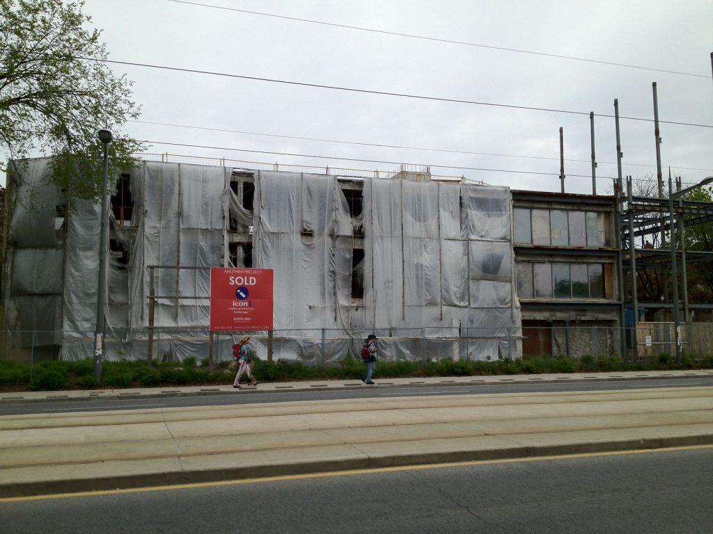 The Code Condos - Pre Demolition (2)
