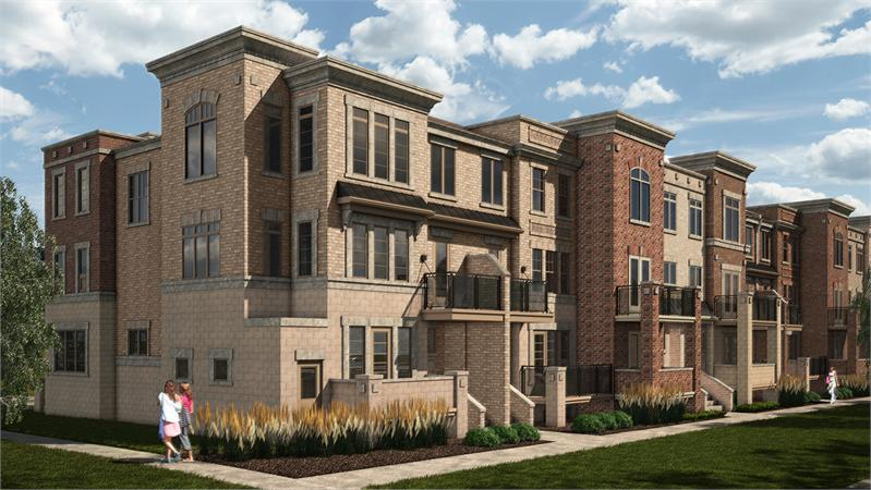 brownstones at westown rendering