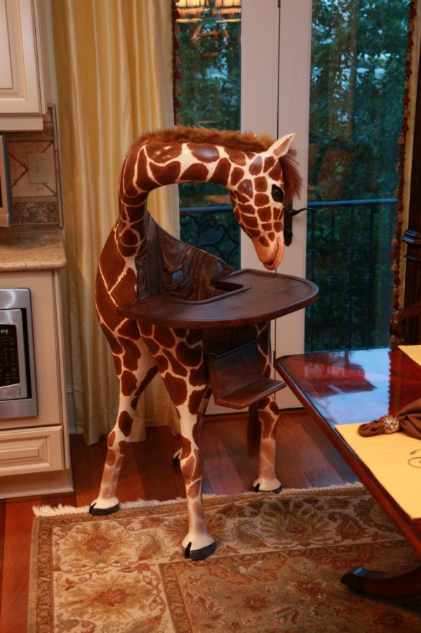 giraffe highchair