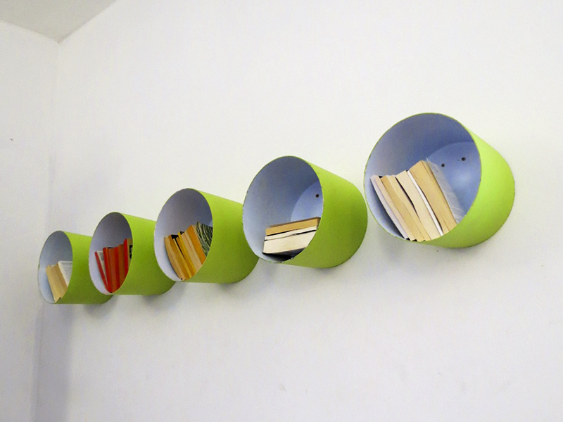 paint bucket shelving