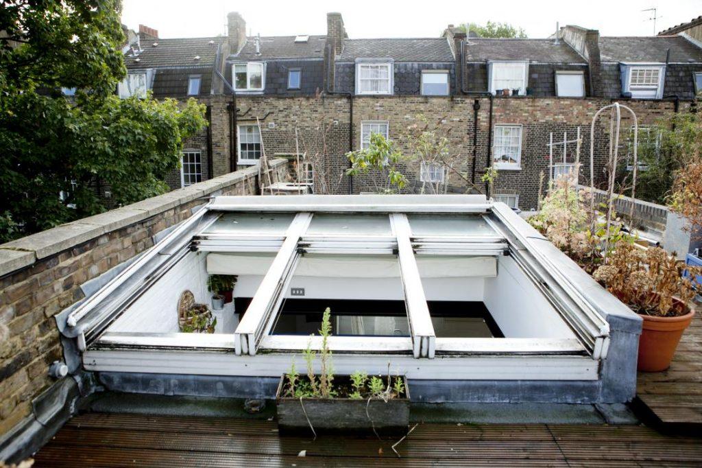 rooftop garden loft