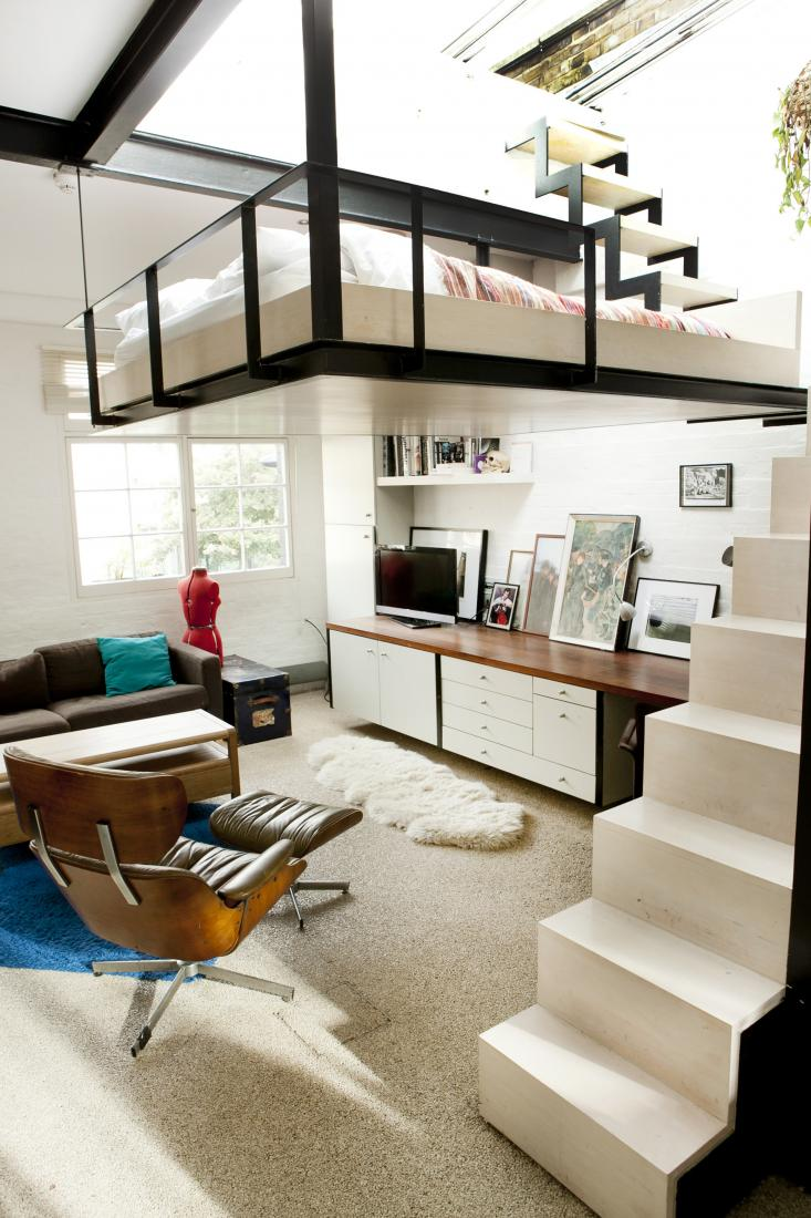 suspended bed loft-1