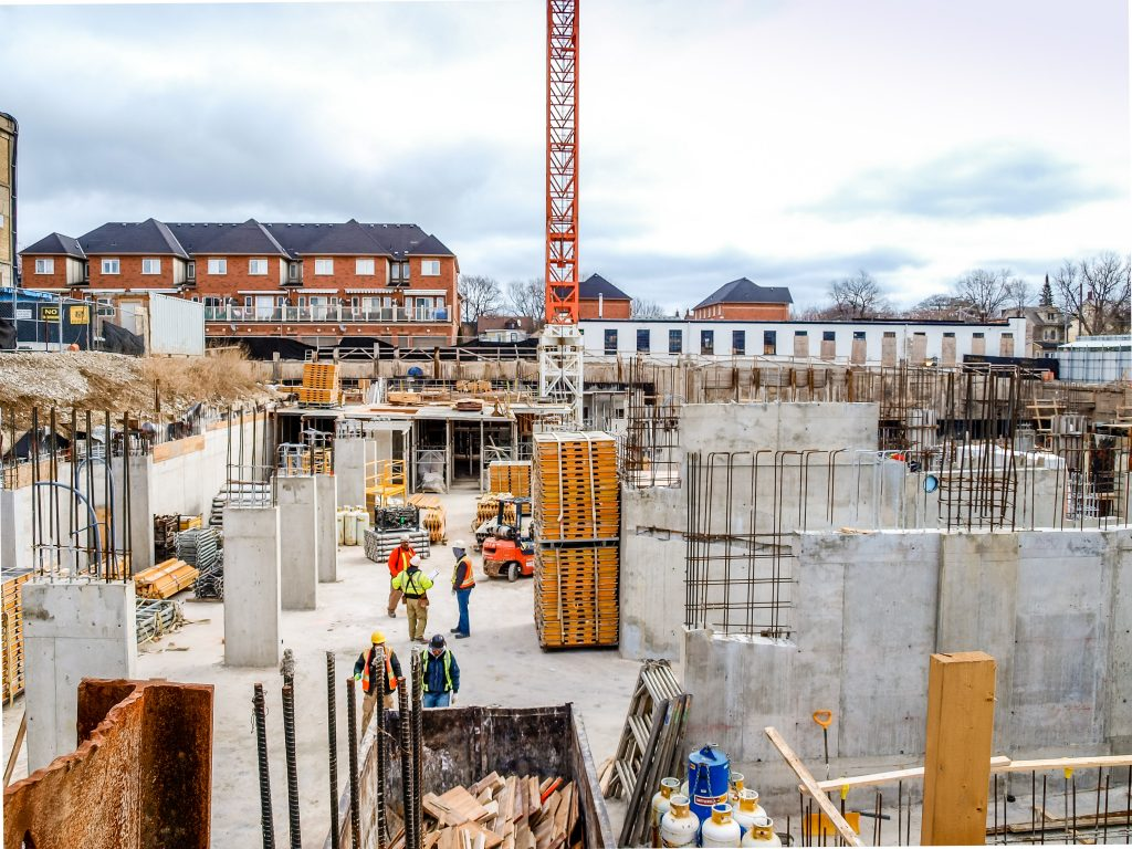 the carlaw construction site