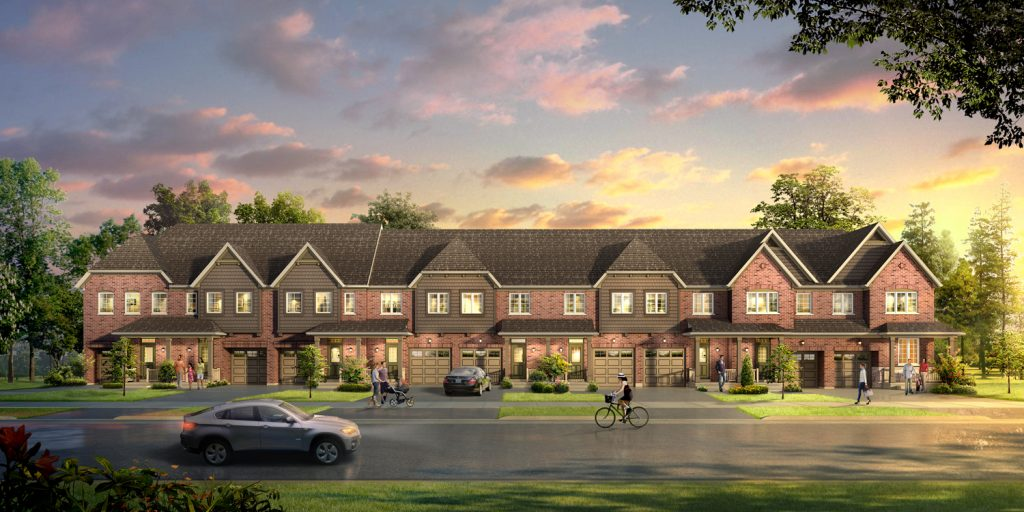 townhomes daniels evermore